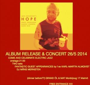 Release flyer
